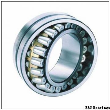 100 mm x 180 mm x 34 mm  FAG 30220-A tapered roller bearings